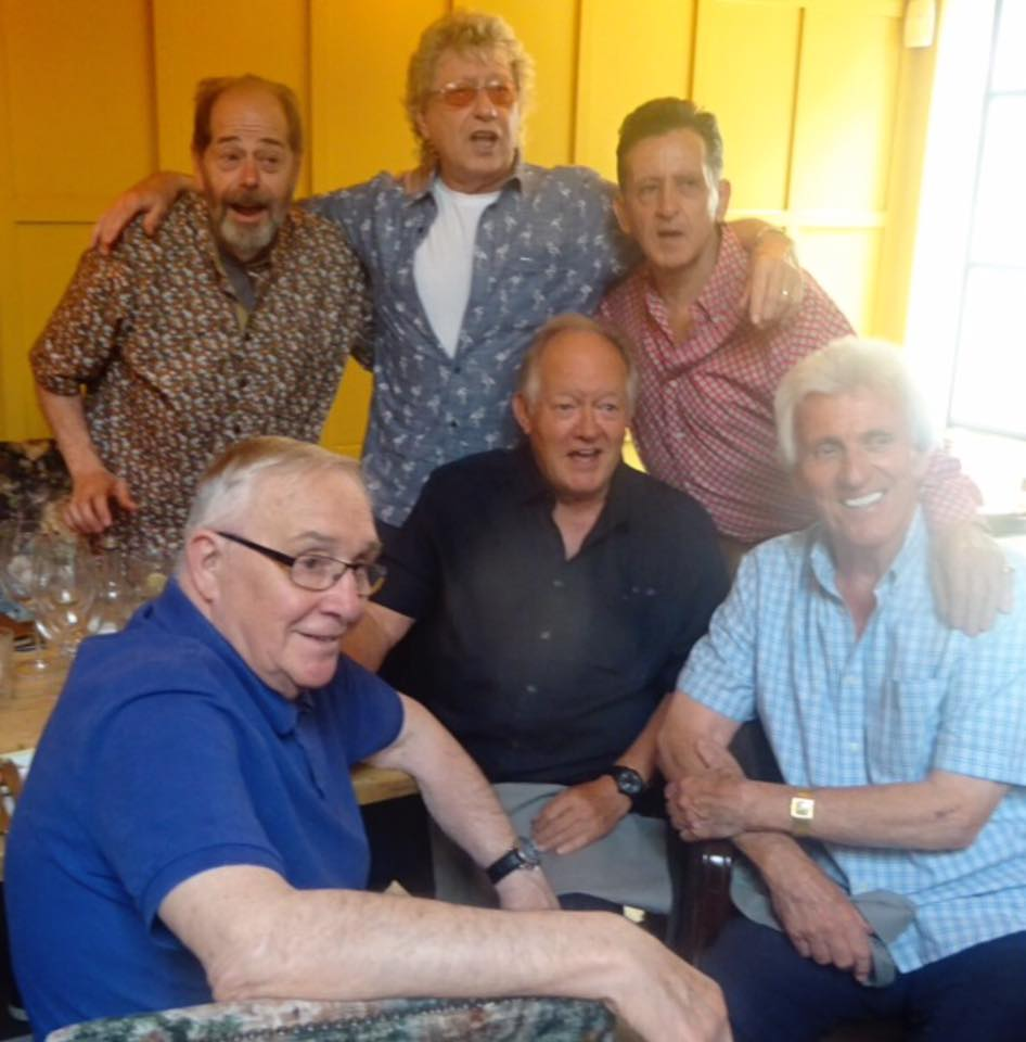 Old-days-With-Clem-Cattini-the-Tornadoes-Bruce-Welch-and-Brian-Bennett-the-Shadows-Gary-Osbourne-and-me-at-a-pop-up-Rock-n-Roll-gig-last-year