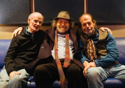 Bill Fay, Alan Rushton and me. Bill's new album Braanched everywhere.
