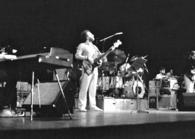 Gil Evans orchestra. Royal Festival Hall 1983.