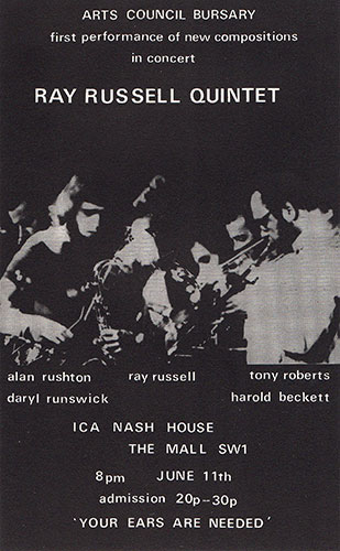 live at the ica poster