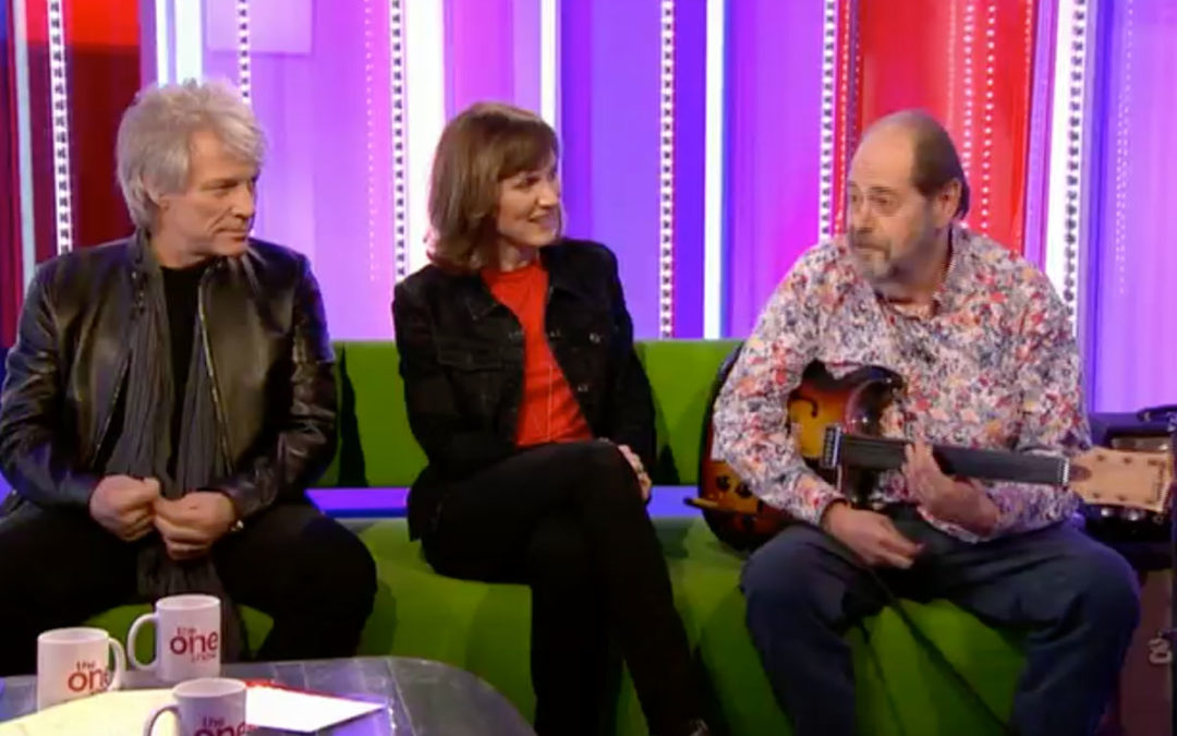 Ray on The One Show 25.02.2020
