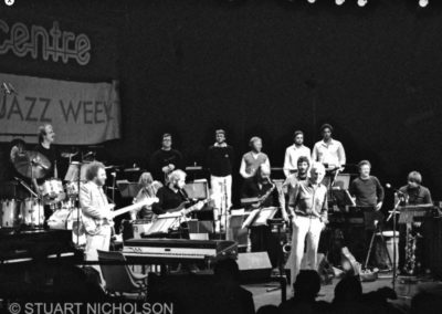 The Gill Evans orchestra at Camden Town 1990s